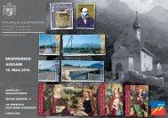 Briefmarkenausgabe 10. März 2014 - Philatelie Liechtenstein