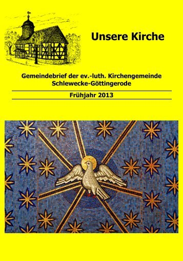 Gemeindebrief Fruehjahr 2013.pdf, Seiten 1-24 - Ev.-luth ...