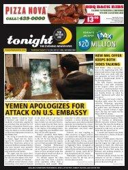 20 million $20 million - tonight Newspaper