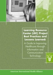 LRC Project Best Practices and Lessons Learned - LRC Toolkit