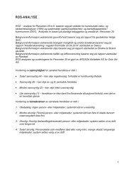 risiko- og sårbarhetsanalyse - Plan