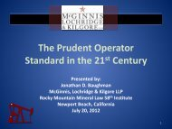 The Prudent Operator Standard in the 21st Century - McGinnis ...