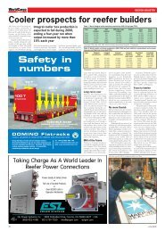 Safety in numbers - WorldCargo News Online