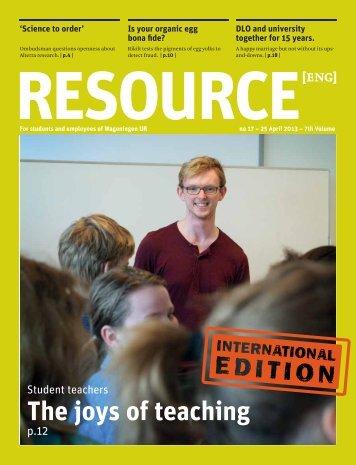 resource - Wageningen UR