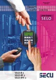 SELO-B 2 SELO-BF 2 SELO-BFE 2 - SECU Sicherheitsprodukte ...