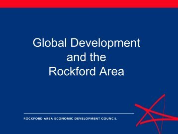 power point presentation - Rockford Area Economic Development ...