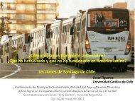 ¿Cómo lograr un transporte sustentable? ¿Qué ... - Clean Air Institute