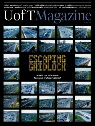 What's the solution to Toronto's traffic problems? - University of ...