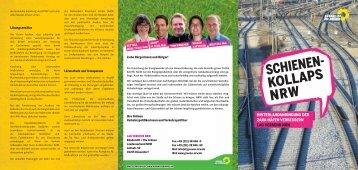 Schienenkollaps NRW - Rolf Beu MdL