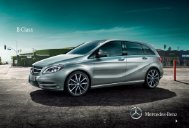 B-Class - Mercedes-Benz UK