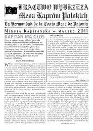 zobacz pdf - Mesa Kaprów Polskich