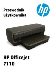 HP Officejet 7110 User Guide – PLWW