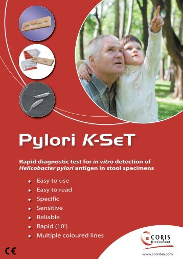 Pylori K-SeT - Coris Bioconcept