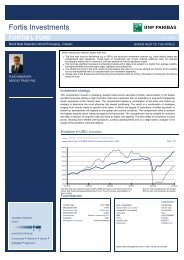 FORTIS L FUND Bond Best Selection World Emer_USD {2