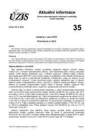 Aktuální informace č. 35/2013 - ÚZIS ČR