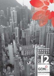 ANNUAL REPORT - Global Development Network