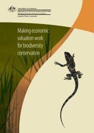 Making economic valuation work for biodiversity conservation ( PDF ...