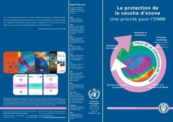 La protection de la couche d'ozone - E-Library - WMO