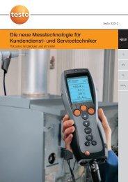 Die neue Messtechnologie für Kundendienst- und Servicetechniker