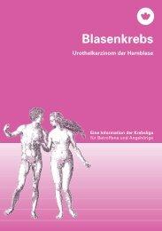 Blasenkrebs - Eine Information der Krebsliga - Krebsliga Schweiz