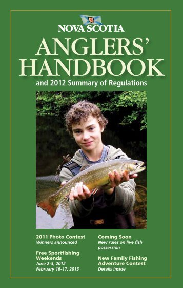 ANGLERS' HANDBOOK - For Youth