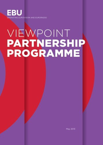 Viewpoint: Partnership Programme - Ebu
