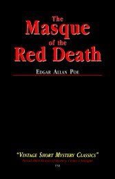 The Masque of the Red Death - Hornpipe Vintage Publications