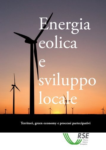 Energia eolica e sviluppo locale - Ambiente e Territorio - Coldiretti