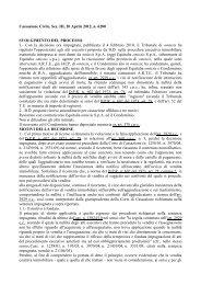 Cassazione Civile, Sez. III, 20 Aprile 2012, n. 6280 SVOLGIMENTO ...