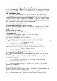 Ingatlan Árverési Hirdetmény - MTA Mezőgazdasági Kutatóintézet