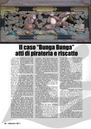 """Il caso """"Bunga Bunga"""" atti di pirateria e riscatto - Porto & diporto"""