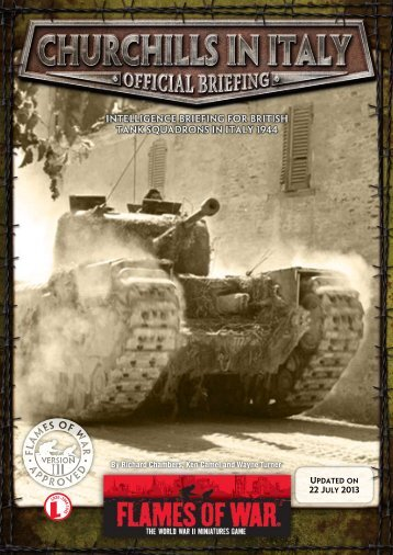 Churchills in Italy - Flames of War