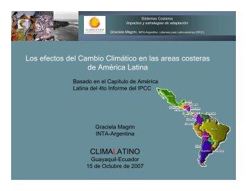 Graciela Magrin - Comunidad Andina