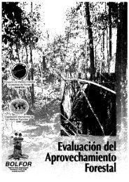 Evaluación del Aprovechamiento Forestal - ITTO