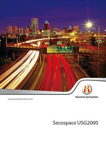 Secospace USG2000 - Utopia Technology