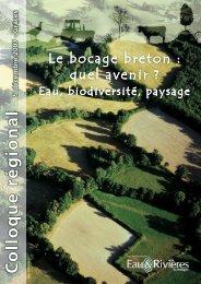 Le bocage breton : Quel avenir ? Eau, biodiversité, paysage