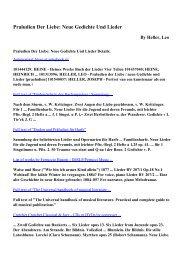Download Praludien Der Liebe: Neue Gedichte Und Lieder pdf ...