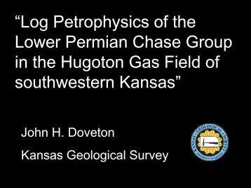 PDF Presentation - the Kansas Geological Survey