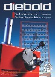 Werkstatteinrichtungen Werkzeug-Montage-Blöcke ... - Diebold HSK