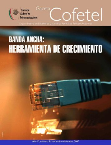 Gaceta 31 - Cofetel