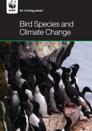 Bird Species and Climate Change: Global Status Report - WWF