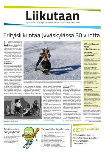 Liikutaan - kevät 2012 - Jyväskylän kaupunki