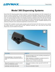 Model 300 Hand-Held Valve Dispensing Systems Product Bulletin