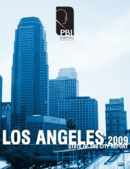 """2009 State of the City Report - """"Pat"""" Brown Institute of Public Affairs"""