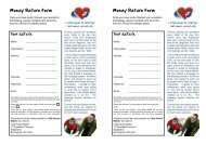 Money Return Form Money Return Form - Little Hearts Matter