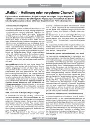 Railjet-Bericht - Fahrgast Kärnten