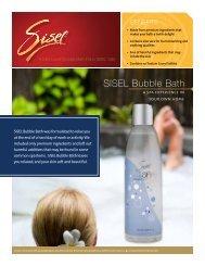 SISEL Bubble Bath