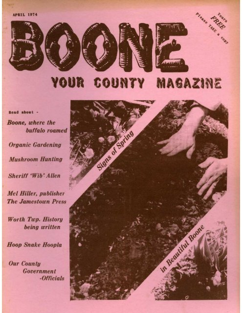 Boone: Your County Magazine Vol 1, Issue 3