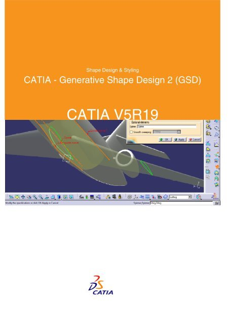 CATIA - Generative Shape Design 2 (GSD)