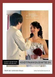 Wahl der schönsten Braut 2014